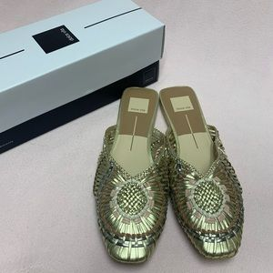 Dolce Vita Slip On Woven Shoes